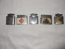 "Lot of 5 restored to working condition ""automatic"" cigarette lighters lot # 6"