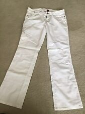 GUESS Jeans Womens Juniors White Pants 30