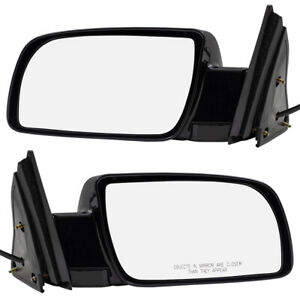 Pair Set Power Side View Mirrors w/ Metal Base for Chevy GMC SUV Pickup Truck