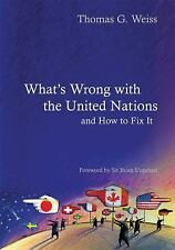 What's Wrong With the United Nations and How to Fix it (Polity What's -ExLibrary
