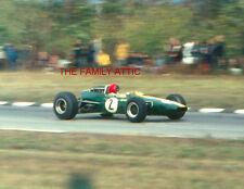 PETER ARUNDELL 2 LOTUS-CLIMAX WATKINS GLEN GRAND PRIX 1966 CAR RACING PHOTO RACE