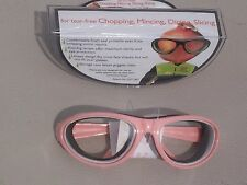 RSVP INTERNATIONAL BLACK ONION GOGGLES TEAR FREE CHOPPING MINCING DICING SLICING