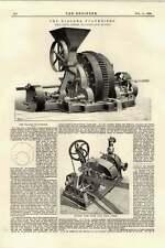 1895 NIAGARA pulveriser DE Laval turbina a vapore a
