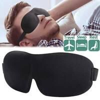 3D Soft Travel Sleeping Eye Mask Padded Shade Cover Sleep Blindfold Eyepatch