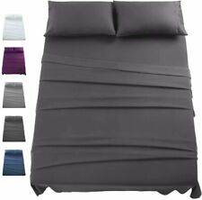 1800 Count 4 Piece Bed Sheet Set Deep Pocket Sheets Softer Than Egyptian Cotton