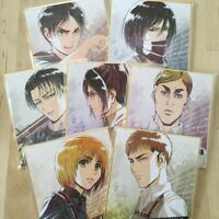 Attack on Titan Illustration board ani-art - / Levi / Erwin / Eren / Hans / Jean