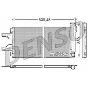 DENSO DCN07050 - Kondensator, Klimaanlage