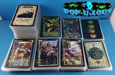 LOT Of 434 Sanguosha Legend of the Three Kingdoms cards LAMINATED w/ tin