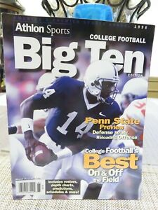 Athlon Sports BIG TEN COLLEGE FOOTBALL 1996 Magazine
