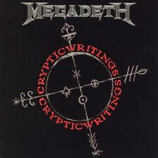 Megadeth Cryptic Writings CD+Bonus Tracks NEW SEALED Remixed & Remastered
