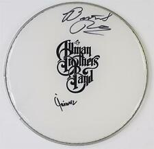 "Butch Trucks & Jaimoe THE ALLMAN BROTHERS BAND Signed Autograph 13"" Drum Head"