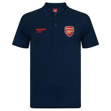 Mens Arsenal Football Polo Shirt Size XL Navy