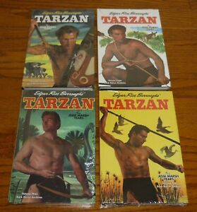 Tarzan Archive Volumes 7,8,9,10 The Jesse Marsh Years SEALED, DELL ERB hardcover