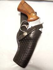 """Vintage JORDAN Style Gun Holster for S&W K Frame 10 12 15 19 64 65 66 67 68 4"""""""