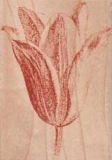 Sello de goma montado de madera de tulipán-Hampton Art