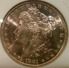 1881 S MORGAN DOLLAR GRADED MS 65 BY NGC!!!!! UNDERGRADED?????