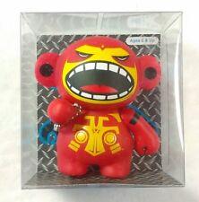 """Levon (Red) Monskey by Bigatron (2008) 2.5"""" Urban Vinyl Designer Collectible Toy"""