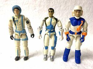 GI Joe Three Figure Lot Sub-Zero Countdown Snow Storm Vintage ARAH