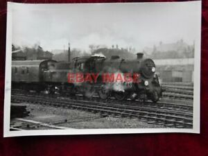 PHOTO  BR STANDARD CLASS 4 LOCO NO 76009 AT BOURNEMOUTH CENTRAL 13-3-65