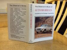 Observers Book Of Automobiles 1974: