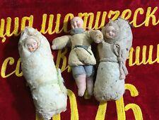 Vintage Christmas Toy Papier Mache doll kids envelope