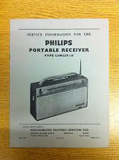 Philips L3W22T Radio Service Manual - Vintage Radio Audio 60's