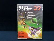 VINTAGE PHILIPS G7000 CONSOLE COMPUTER VIDEOPAC 39 FREEDOM FIGHTERS  GAME