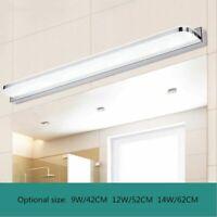 Modern Acrylic LED Mirror Front Lamp Bathroom Vanity Lights Toilet Wall lighting