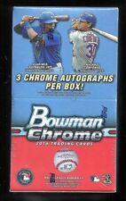 2016 Bowman Chrome Factory Sealed Baseball Hobby Vending Box 3 AUTOGRAPHS