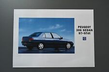 FOLLETO de ventas: Peugeot 306 Gasolina & Diesel Saloon Sedan, ST Modelos, 1994