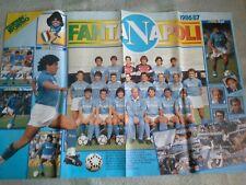 N.2 POSTER  CALCIO NAPOLI  ANNO 1985/86   1986/87  DIEGO ARMANDO MARADONA NO PAN
