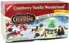 Cranberry Vanilla Wonderland Holiday Tea, 20 tea bag 2 pack
