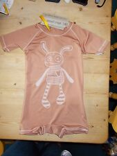 Small Rags UPF 50+ S/Sleeved Swim Sun Suit 3-4yrs 98-140cm Lt Brown Mix BNWT