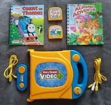 Video Plus Story Reader Learning System Video Console With Books And Cartridges