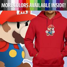 Super Paper Mario Bros Nintendo Game Graphics Pullover Sweatshirt Hoodie Sweater