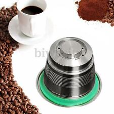 Stainless Steel Coffee Capsule Pod Reusable Refillable Cup For Nespresso Machine