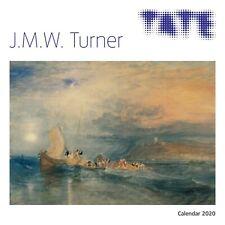 Tate - J.M.W. Turner 2020 - 16 Month Square Wall Calendar