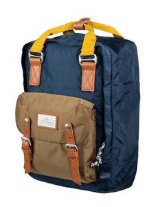 Doughnut Rucksack Backpack Macaroon Glossy Series Navy Khaki 16L