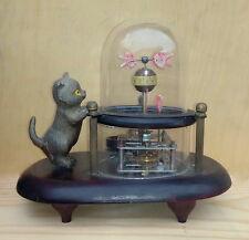 Collection vieux mécanique Cat & Aquarium Pendules / Horloges / Bureau Horloge