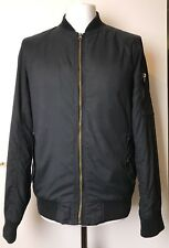 Mens Navy Blue Bomber Jacket by Red Herring-Size Medium 39-42 inch Chest