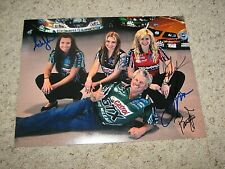 JOHN FORCE, COURTNEY FORCE ,BRITTANY, ASHLEY SIGNED 11X14 PHOTO coa