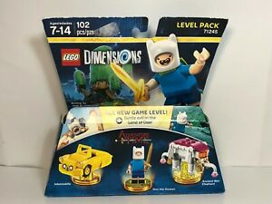 LEGO Dimensions Adventure Time Level Pack New And Sealed