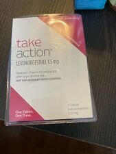 Take Action Emergency Contraceptive 1 Tablet 1.5mg Exp: 08/22