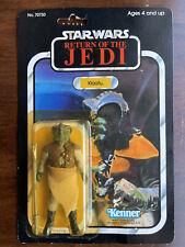 Star Wars ROTJ Klaatu figure MOC 77 Back Vintage 1983