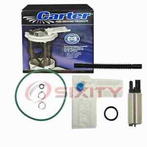 Carter Fuel Pump & Strainer Set for 2005-2009 Dodge Dakota 3.7L 4.7L V6 V8 zd