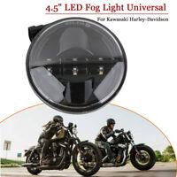 """4.5"""" Led Nebelsheinwerfer Zusatzsheinwerfer Für Kawasaki Harley-Davidson"""