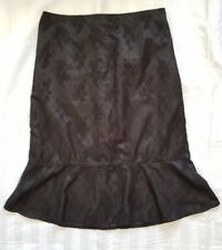 Ladies size 12-14 Black Lacey Skirt - New Cover