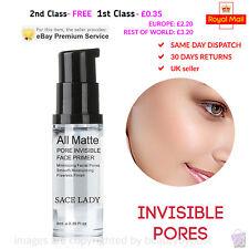 SACE LADY Longlasting All Matte Pore Invisible Face Primer Base Gel UK seller