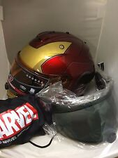 HJC IS-17 IRON MAN MARVEL HELMET IN STOCK XL EXTRA LARGE FREE 2ND SHIELD