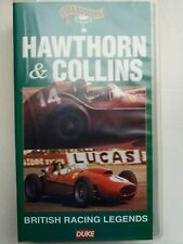 HAWTHORN & COLLINS - British Racing Legends - video VHS PAL - As new